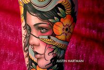 Tattoos and art / by Hannah Goodhart