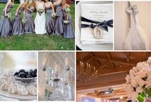 wedding / Silver and white colour scheme