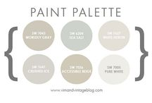 paint colors / by Cassie Renee