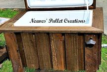 DIY Outdoor Kitchen Furniture