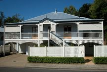 """Ranger Queenslander / The Ranger is a smaller version of the homestead style """"Carpentaria"""". It is designed for retirees and young families or couples. It features 3 beds or 3 beds + study and ranges in size from 156m2 to 187m2."""