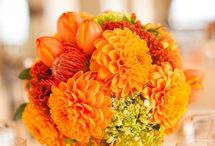 wedding color orange