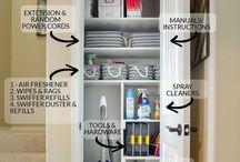 Organizing the house
