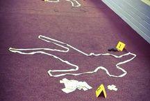 Crime scene photos