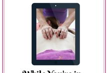 Video tutorials for massage therapists, aromatherapists and reflexologists