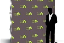 Step and Repeat Trade Show Displays