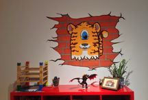 Airbrush: Walls / Various walls that i have airbrushed over the time...