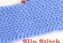 Lorraine crochet slip stitches