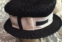Vintage Hats & Scarfs