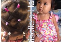 Kids hair style / Ideas for kids hair tie