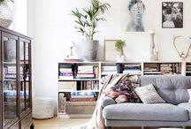 Vardagsrum / Ny stil till vardagsrummet