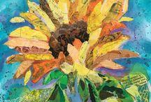 a sunflower/daisy
