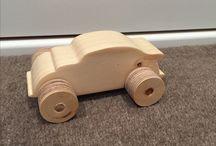 OCC Wooden Car