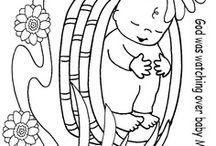 Krabbelkindergottesdienst Bibelbilder