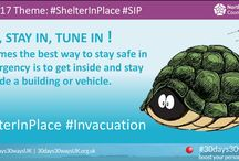#prepared #ShelterInPlace / When the emergency is outside GO IN - STAY IN and TUNE IN, that is #SIP or Shelter-in-Place. Check out these FREE UK RESOURCES from trusted partners. Be better prepared, not scared. Find out more about #30days30waysUK by visiting the website at http://30days30waysUK.org.UK