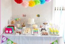 Cupcake Princess Candy Buffet