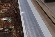Roofing | Metal / A permanent solution to an annual problem that eliminates gutter cleaning for all-time...