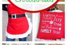 Sewing - Christmas projects