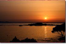 Sunsets and sunrises.