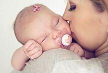 Fotos bebe y mama