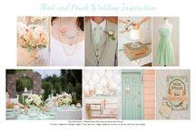 Mint & peach Weddings