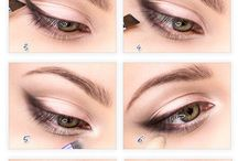 Eye makeup - Enlarged look