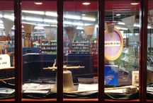 Window Displays / Our displays promote, inspire and celebrate reading, learning and life.