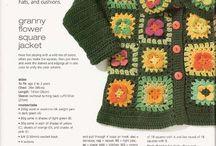 Peças em Crochet