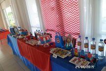mesa dulce super heroes