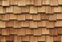 Kledning cedar shingle