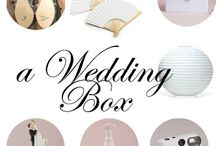 Wedding box - scenografie matrimony