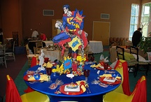 superhero birthday theme / by Brandy Rivera