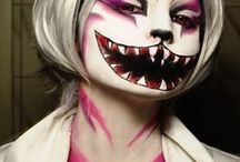 Halloween make up ideas☆