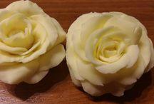 Moje kwiatki z cukru