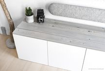 DIY TV-benk&sofabord