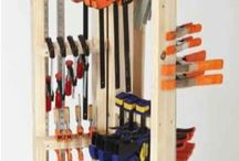 Clamp Storage Carousel