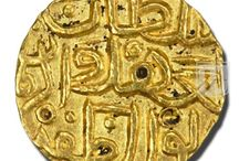 Deccan Sultanate (Bahamanis) - Coins of Muhammad Shah I / A beautiful collection of coins of Muhammad Shah I during the period of Deccan Sultanate (Bahamanis) Dynasty
