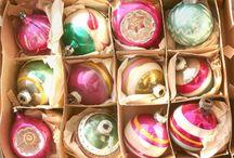 vintage ornaments / by Georgia Guesnier Foos