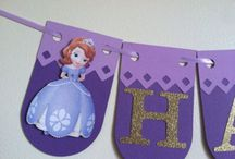 Princess sofia party / My princess is turning 2 / by ♥Clary Fno Velez♥