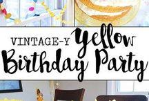 Birthday Party Ideas / A collection of fun ways to celebrate birthdays!