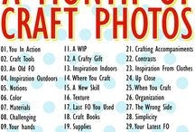 A Month of Craft Photos / by Grace Edwards