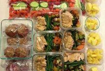 Идеи обедов и перекусов