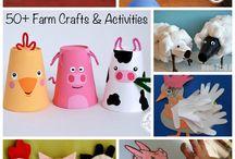Fun Farm Crafts for Kids