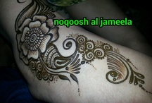 Our henna art  / All these designs are our own creations....