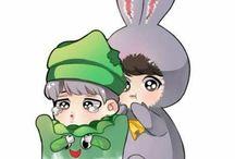 Jungkook și Jimin