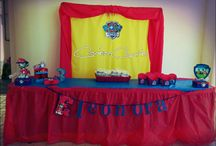 Paw Patrol party birthday / compleanno di Eleonora allestimento CARTAECUCITO