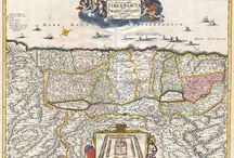 The Holy Land / A collection of fascinating maps and views of the Holy Land and surrounding areas – included are a various maps of Jerusalem, and important landmarks, views of Rama and Bethlehem by Cornelius de Bruijin during Ottoman control of the area, and a map of the 12 tribes.