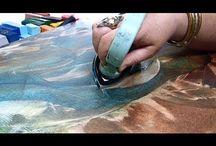 vasalos festős technika