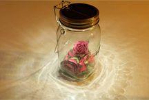 Solar jar lampe déco à personnaliser