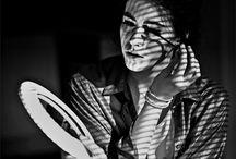 Women in black & white